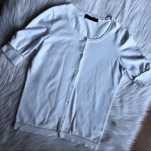 The limited white cardigan size M
